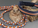 doggyboxx Halsband L 45-50 ocean orange